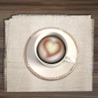 A cup of coffee - Foto Stock
