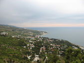 Yalta town, Crimea, Ukraine — Stock Photo