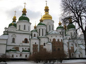 Saint Sofiya Kiyvska Cathedral — Stock Photo