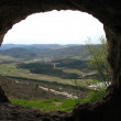 Stock Photo: View from cave