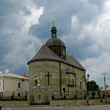 Church in Camenec-Podolskiy city - Foto de Stock