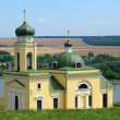 Stock Photo: Church in Hotyn town