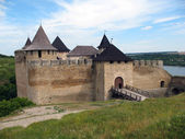 Fortress in Hotyn town — Stock Photo