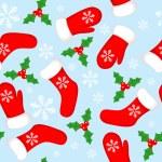 Seamless Christmas background — Stock Vector #1629292