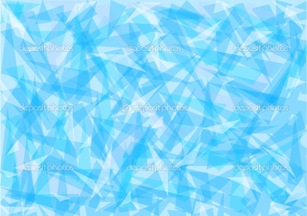 Blue ice abstract background — Stock Vector © ColorValley #1627001