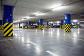 Underground parking garage — Foto Stock