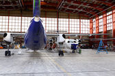 Maintenance hangar. — Stock Photo