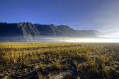 Bromo volcano - Sea of Sand — Stock Photo