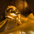 Reclining Buddha (Wat Pho) — Stock Photo