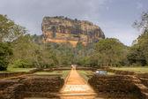 Sigiriya rock, Sri Lanka — Stock Photo