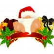 Royalty-Free Stock Vector Image: Nice santa Claus