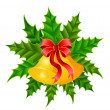 Royalty-Free Stock Imagen vectorial: Wreath with bells