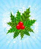 Christmas bouquet — Stock Vector