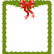 Beautiful Christmas frame — Stock Vector #1627824