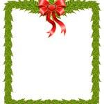 Beautiful Christmas frame — Stock Vector