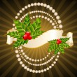 Beautiful christmas background — Imagens vectoriais em stock