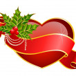Royalty-Free Stock Vector Image: Beautiful red heart