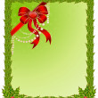 Beautiful Christmas frame — Stock Vector
