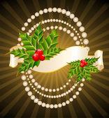 Schöne weihnachten hintergrund — Stockvektor