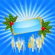 Vector de stock : Beautiful christmas background