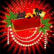 Background with gifts - Image vectorielle
