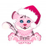 Beautiful little tiger — Stock Vector #1655165