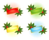 圣诞节背景 — 图库矢量图片