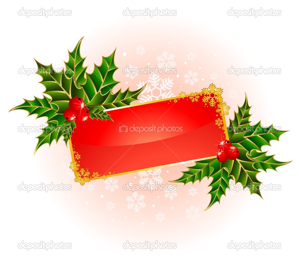 Red beautiful christmas background — Stock Vector #1654754