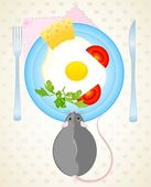Little mouses — Stock Vector
