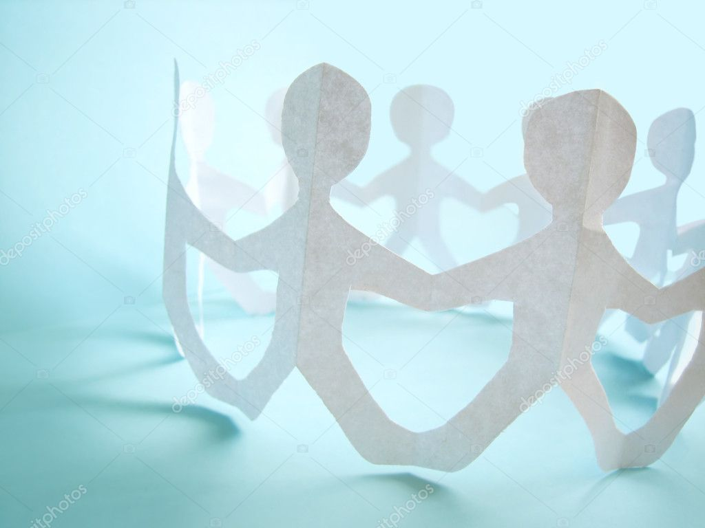 Community of holding on hands, concept — Stock Photo #1608915