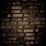 pared de ladrillo Grunge — Foto de Stock
