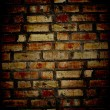 Grunge brick wall — Stock Photo #1627704