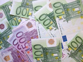 European Currency Background — Stock Photo