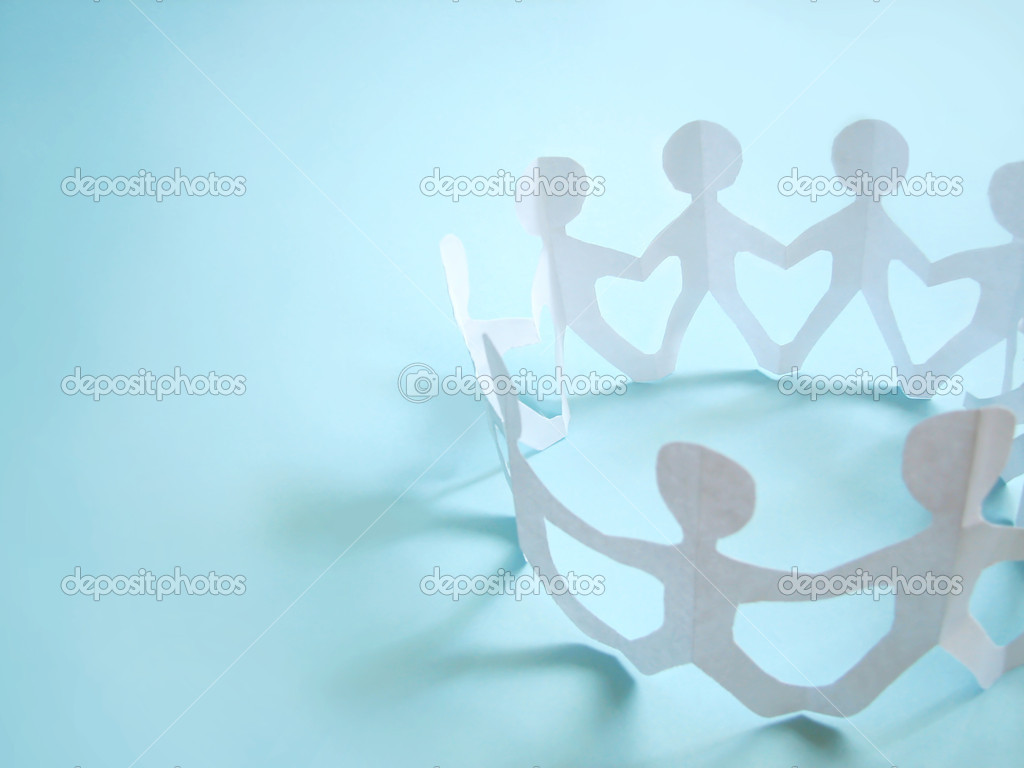 Community of holding on hands, concept — Stock Photo #1630158