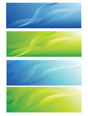 Abstract header background — Stock Vector