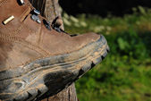 Mountain Boot — Stock Photo