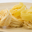 Stock Photo: Raw pasta