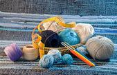 Knitting set — Stock Photo