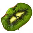 Smashed kiwi — Stock Photo