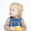 Child with the apple — Stock Photo #1694756