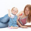 Mother with daughter — Stock Photo #1694767