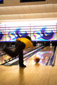 Professional bowler — Stock Photo