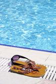Elle est la natation — Photo