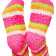 Stock Photo: Multicoloured socks