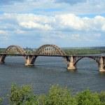 Railroad bridge — Stock Photo