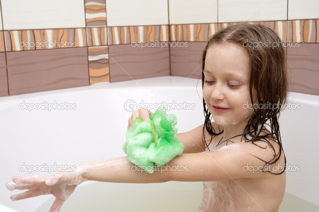 Taking a bath stock photo 2573934 for Bathing images
