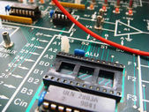 Microcircuit — Stock Photo