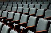 Empty Auditorium Seats — Stock Photo