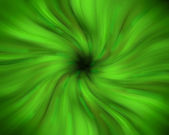 Green swirling vortex — Stock Photo