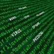 Stock Photo: Methods of cyber attack in code
